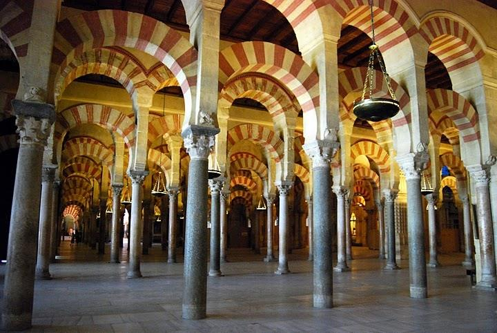 Cordoba, Mezquita, 2 hours away.