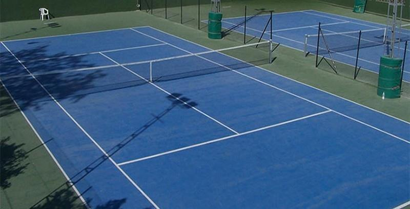 Tennis courts sport club