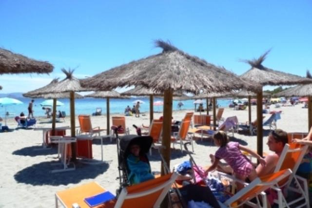 Sandy beaches of the warm waters of the mar menor,Two miunte walk