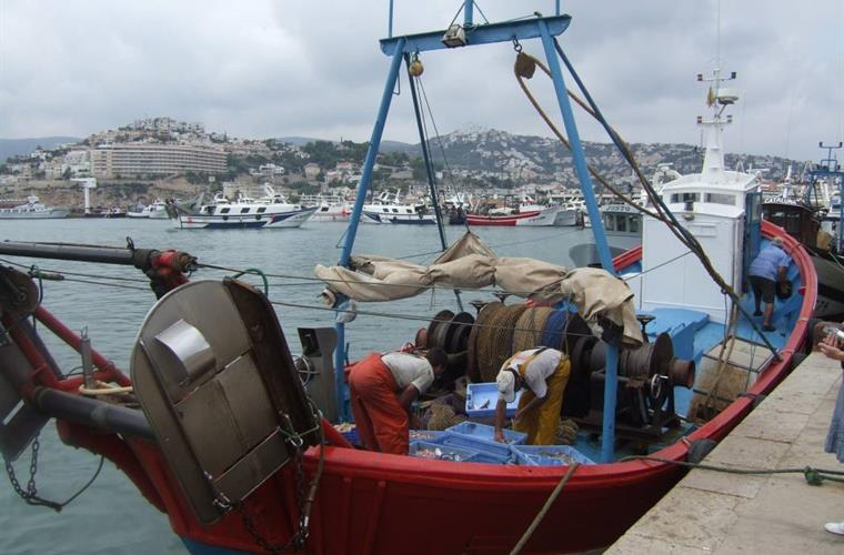 Peniscola has a working fishing fleet.