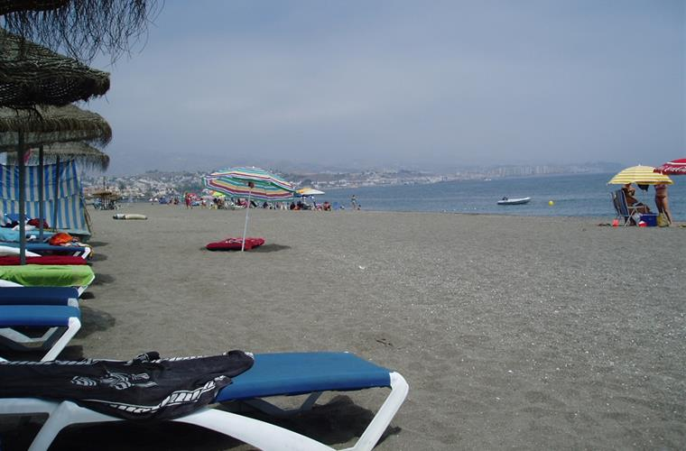 Beach at Torre del Mar
