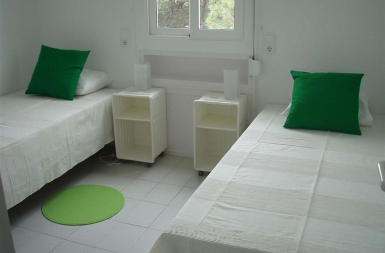 Double room. Beds can be set as double.