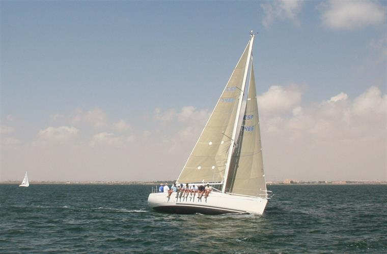 Sailing On Mar Menor