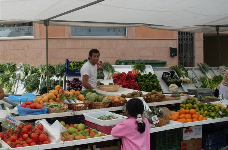 Local markets every weekday