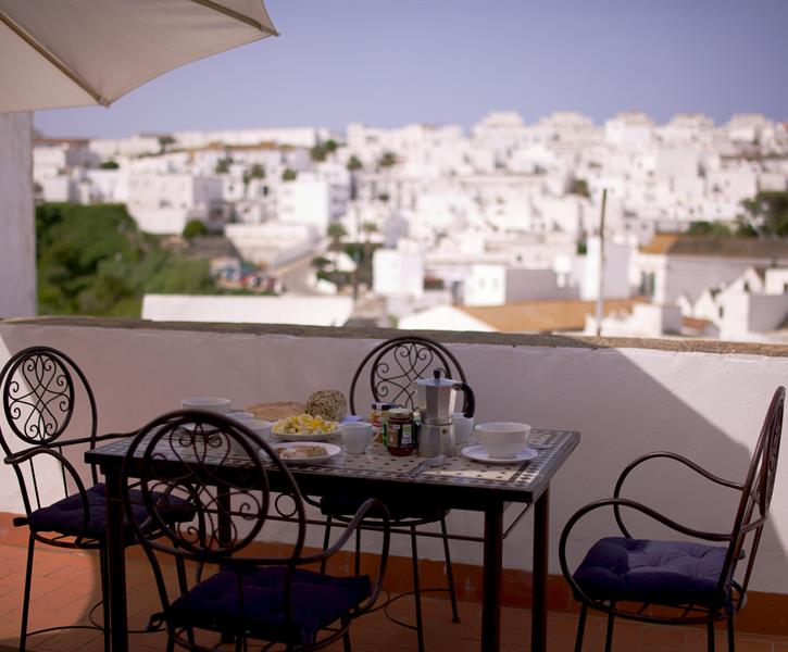 Enjoy your breakfast on the terrace