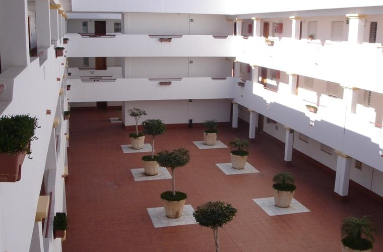 Patio interior