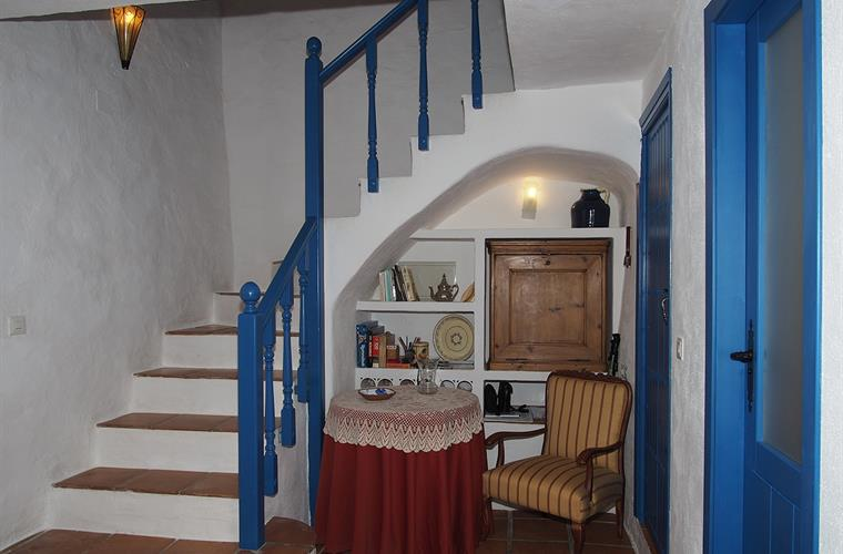 Stairs to first floor bedroom.