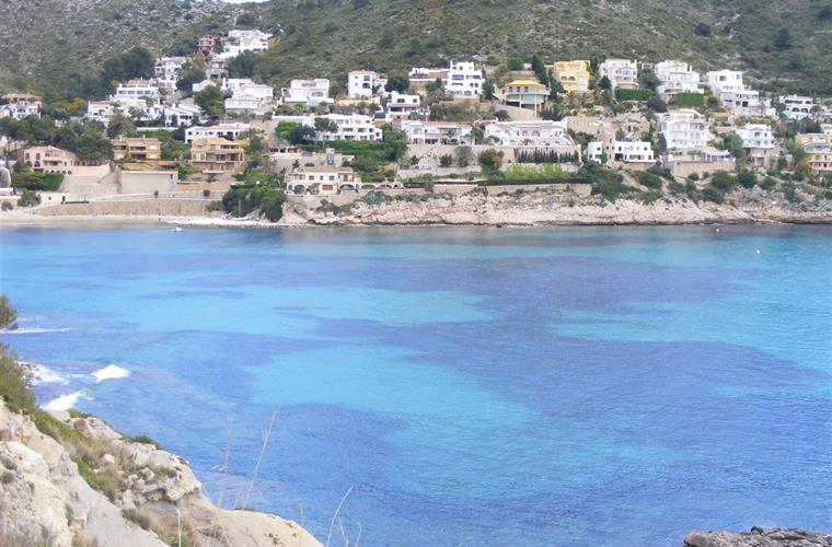 The bay at El Portet, Moraira