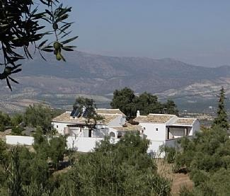 View from behind Cortijo