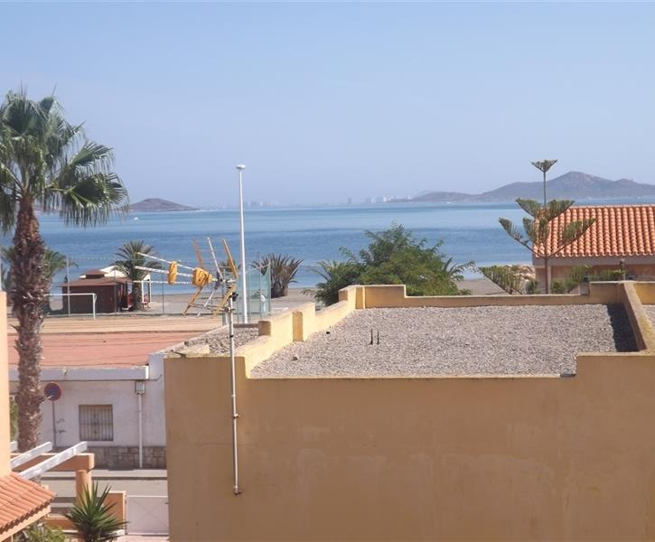 view of Mar menor from roof