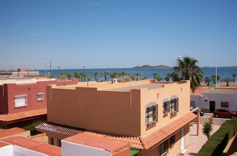 WONDERFUL VIEW OF MAR MENOR FROM ROOF TERRACE