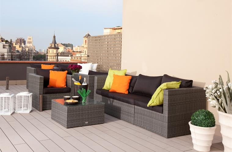 Communal Terrace and Chill Out Zone