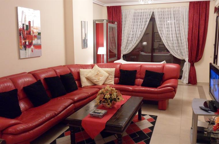 lounge with 7 seater