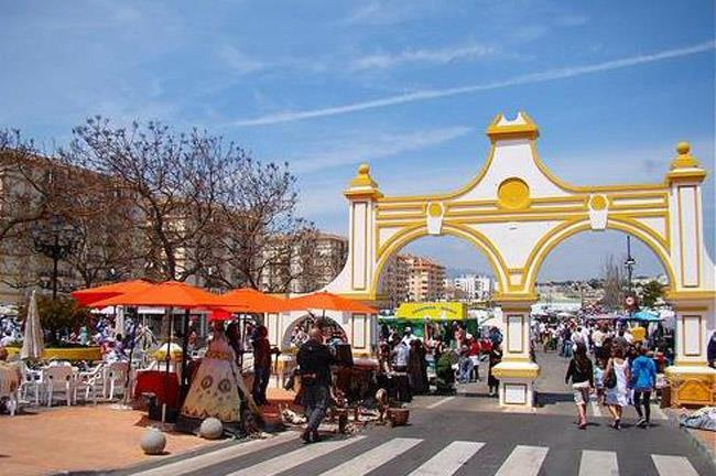 Weekly market in Fuengirola