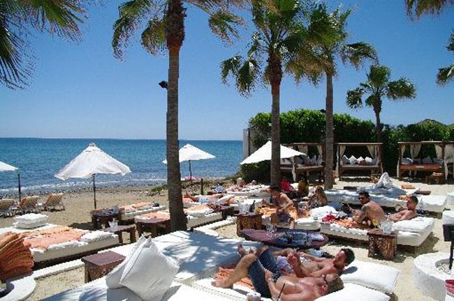 The famous Nikki Beach Club Marbella is just 15 minutes by car