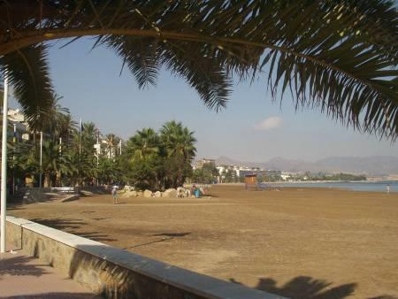 One of the local beaches at the Puerto.