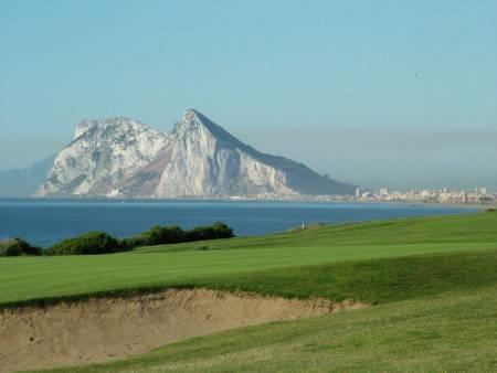 Gibraltar from Golf Course