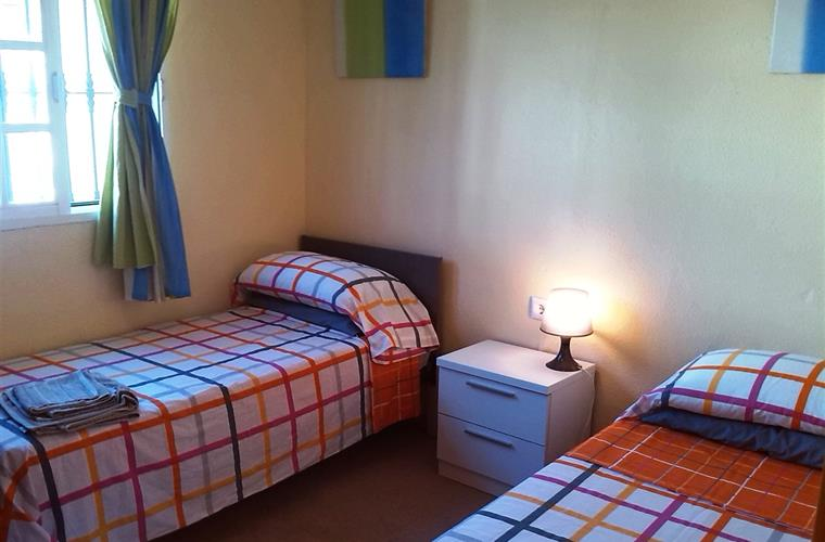 Tercer dormitorio. Third Bedroom with fitted wardrobes