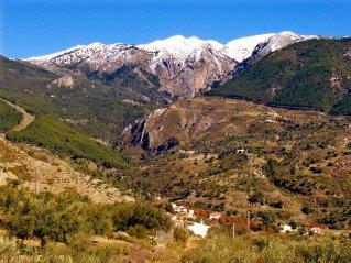 The Sierra Tejeda National Park in Spring