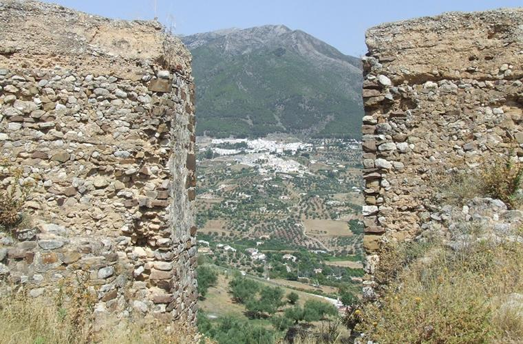 View of Alcaucin from Castle Zalia ruins