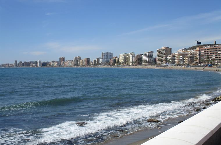 View to Fuengirola from Carvajal