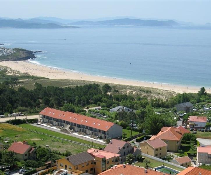 Panoramic view of Montalvo beach