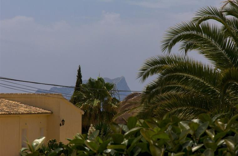 View from villa to Ifach Calpe