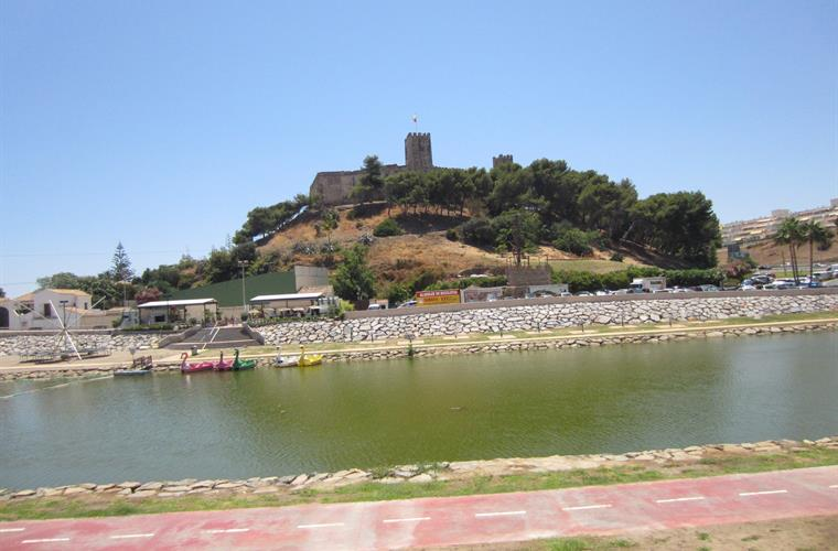 The Castle and river  just 100 meters from the house