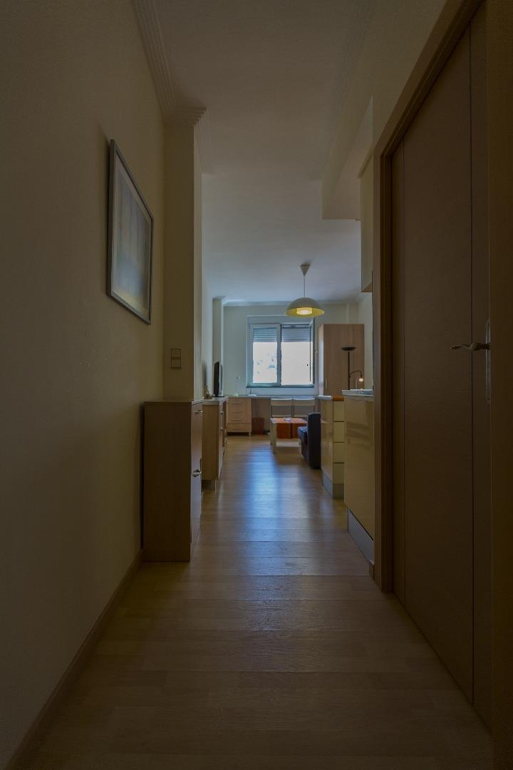 Hallway to living room