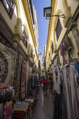 Old Moroccan quarter in Granada