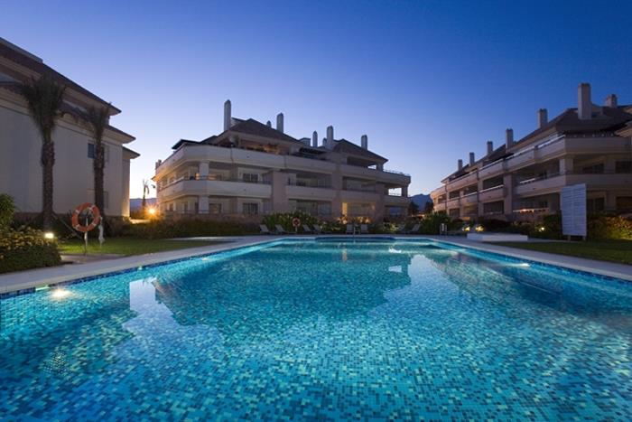 Enjoy a sunset swim in the heated pool water 27c plus