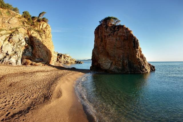 The true Costa Brava, less than 4km from the house.
