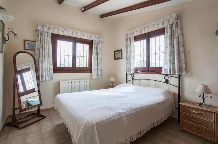 bright and airey double room