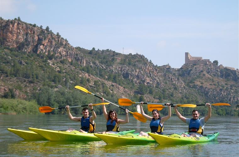 Kayaking - one of the many adventure activities we arrange!!