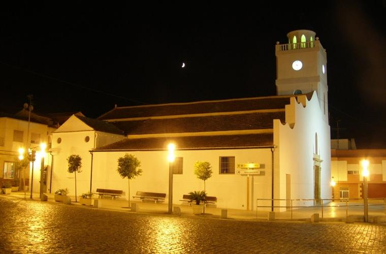 The beautiful church in the centre of Benijofar