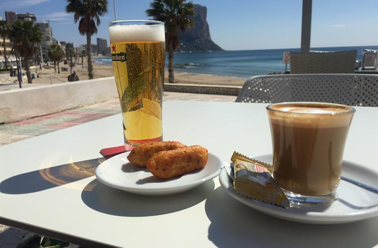 Perfect stop to refuel, at Sol y Mar cafe!