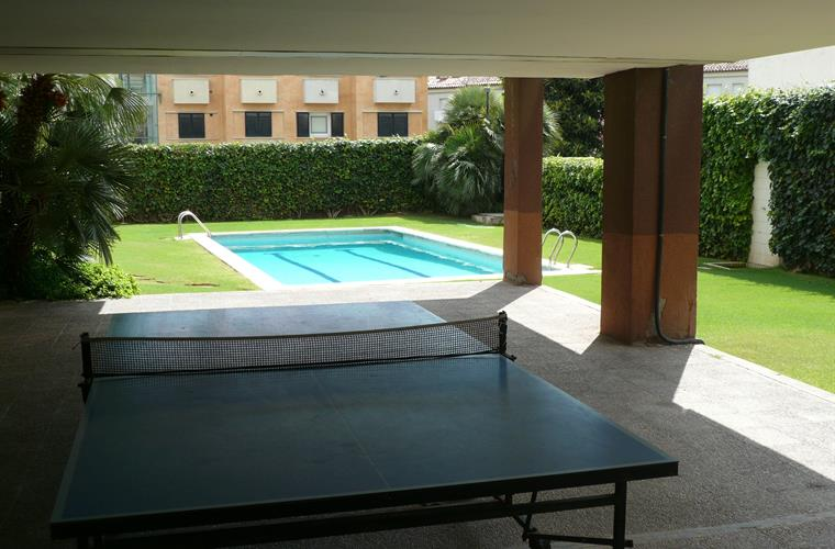 Ping pong and gardens