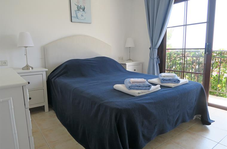 Master bedroom with Nerja, sea and mountain views