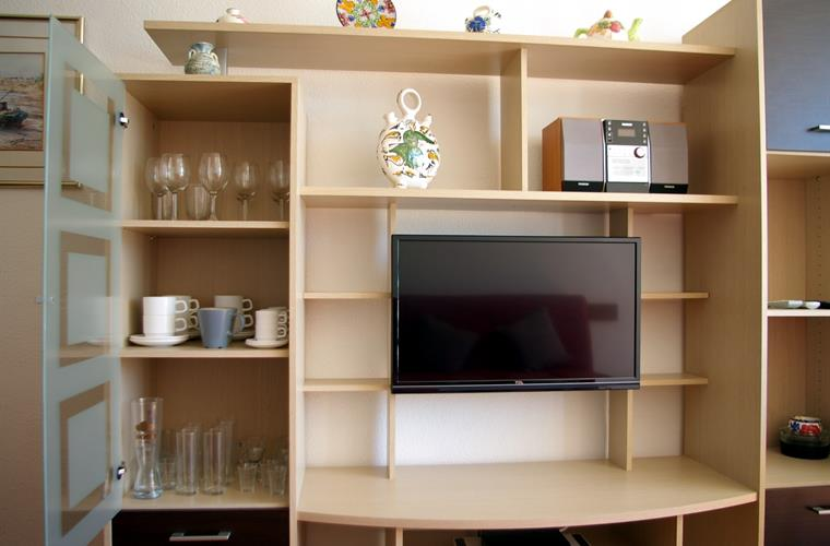 Living-room Shelves