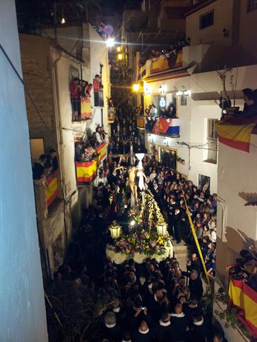 Easter procession in Santa Cruz