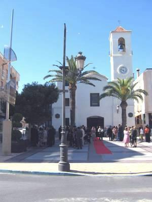 Church in San Pedro Square