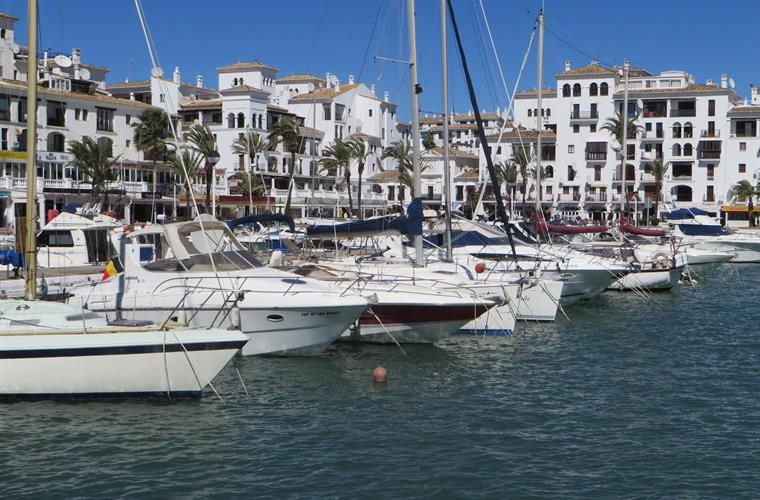 Several marinas close by to visit