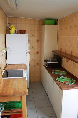 Cooker and fridge area