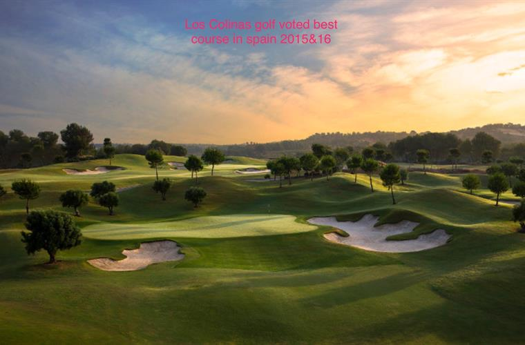 Las Colinas Golf Course - voted best course in Spain 2015 and 2016