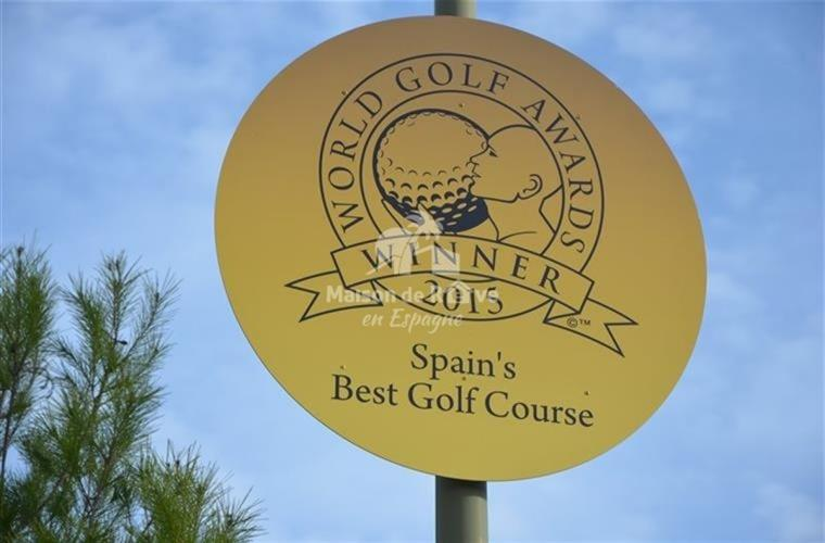 Best golf 2015 in Spain
