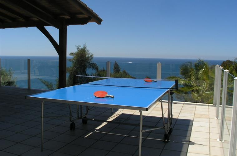 Chill, relax or enjoy a game of table tennis
