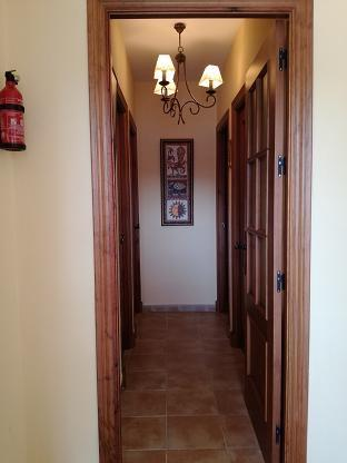 Hallway to bedrooms & bathrooms