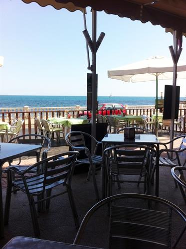 Seafront Restaurant near apartment