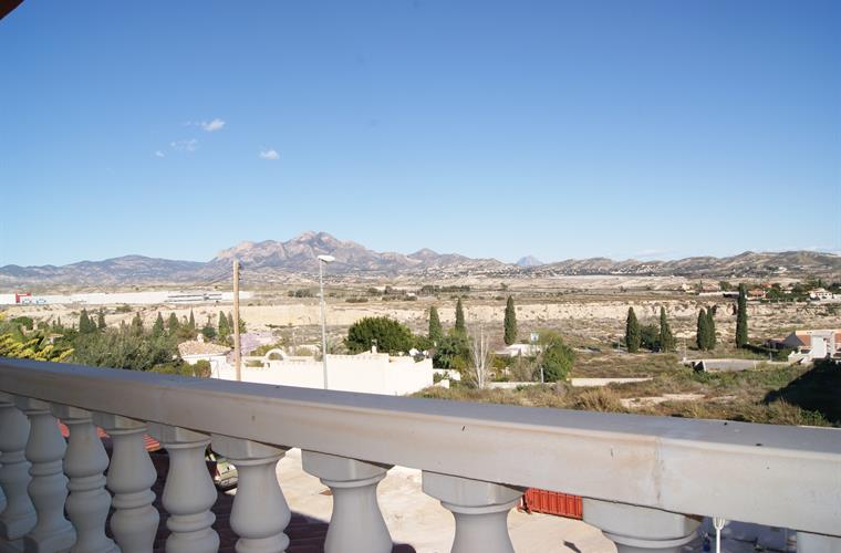 Panoramic views from the terrace