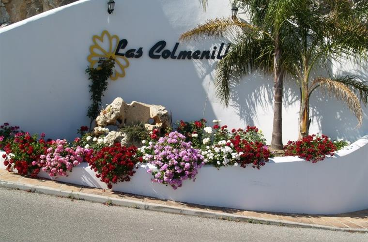 Entrance to Las Colmenillas